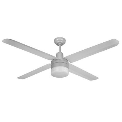Picture of Martec Four Seasons Series Trisera 3 or 4 Blade 1400mm Ceiling Fan with Clipper Light